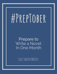 Use this Preptober Planner to crush your NaNoWriMo goals!