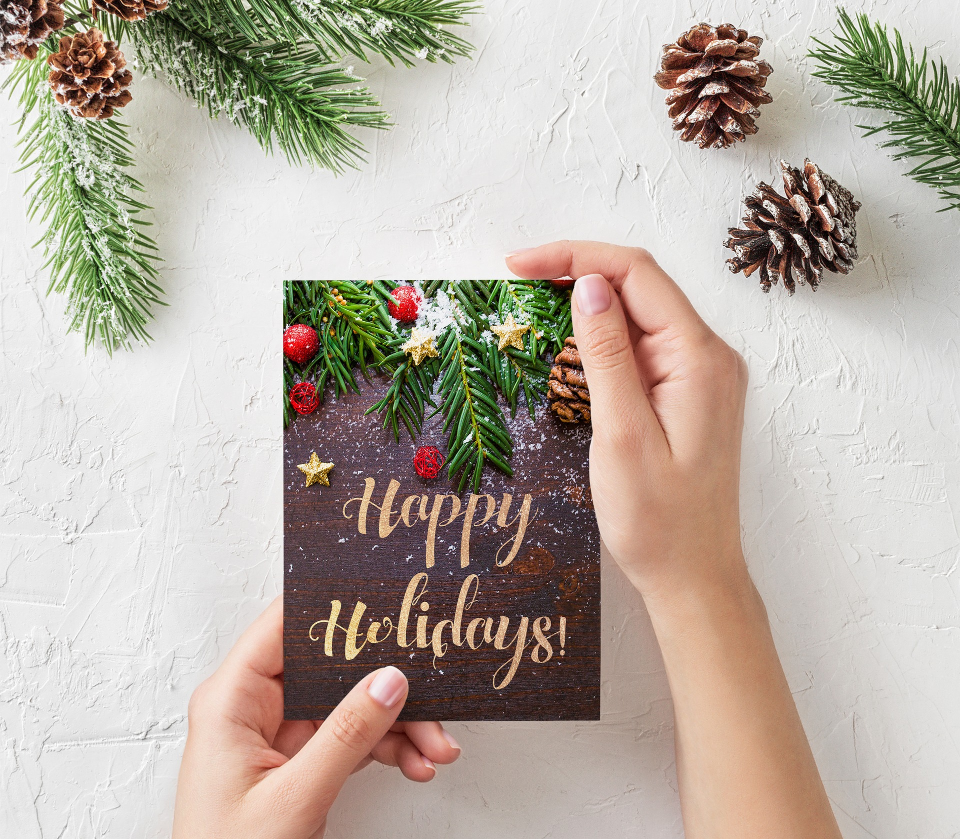 Christmas Card Alternatives for Writers