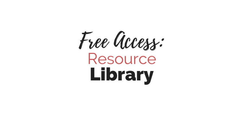 Free Access to the Cole Smith Writes Resource Library