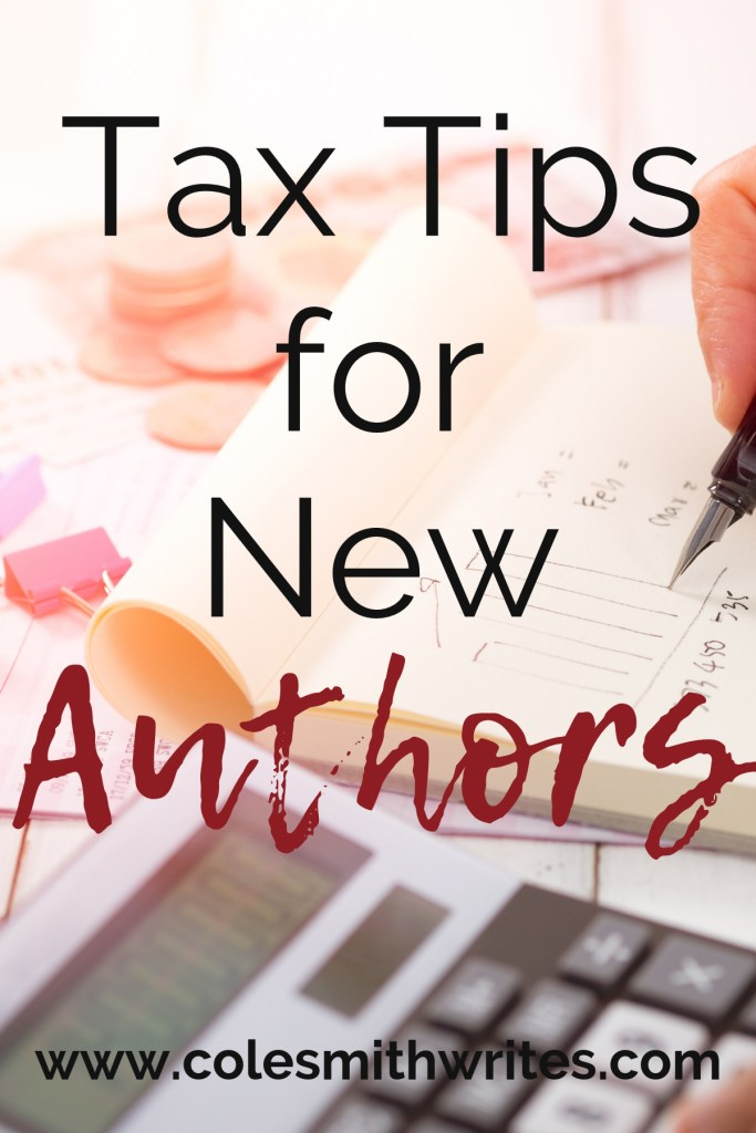 Rather write than do accounting? Here are some tax tips for new authors |