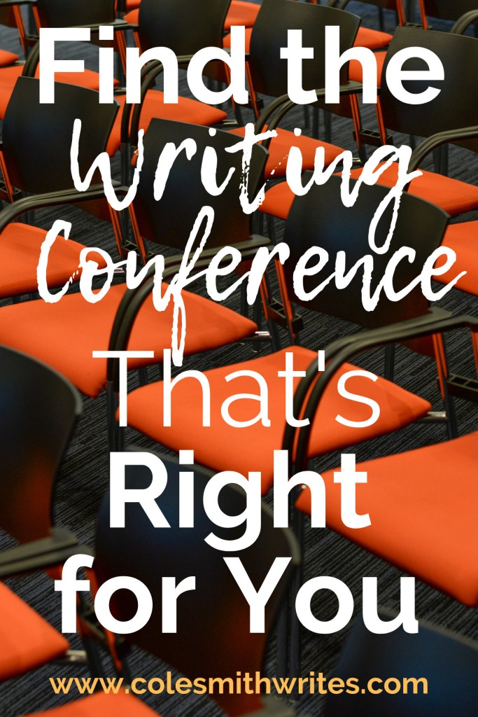 How to find the writing conference that's right for you!