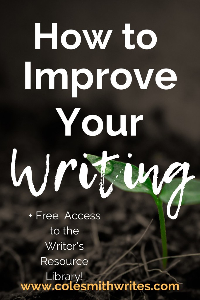 Want to improve your writing? Try this: |