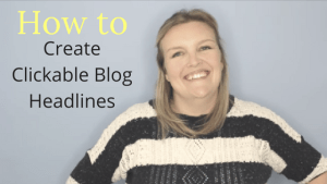 How to write clickable blog headlines