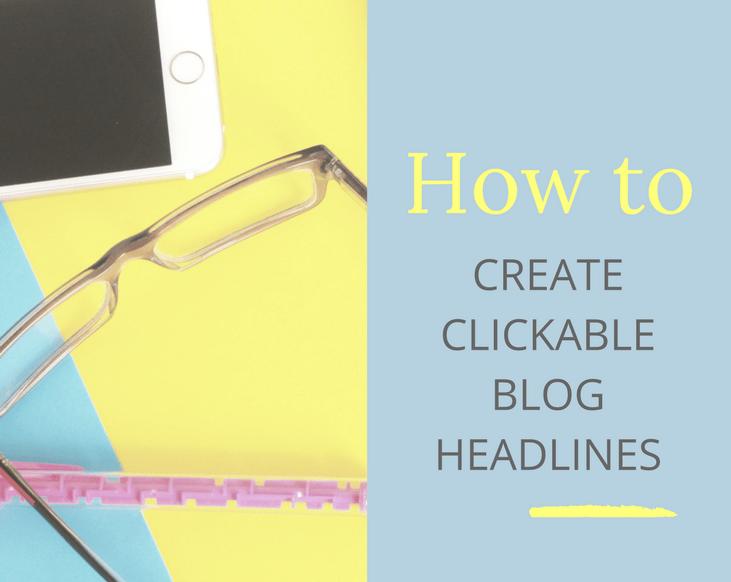 clickable blog headlines