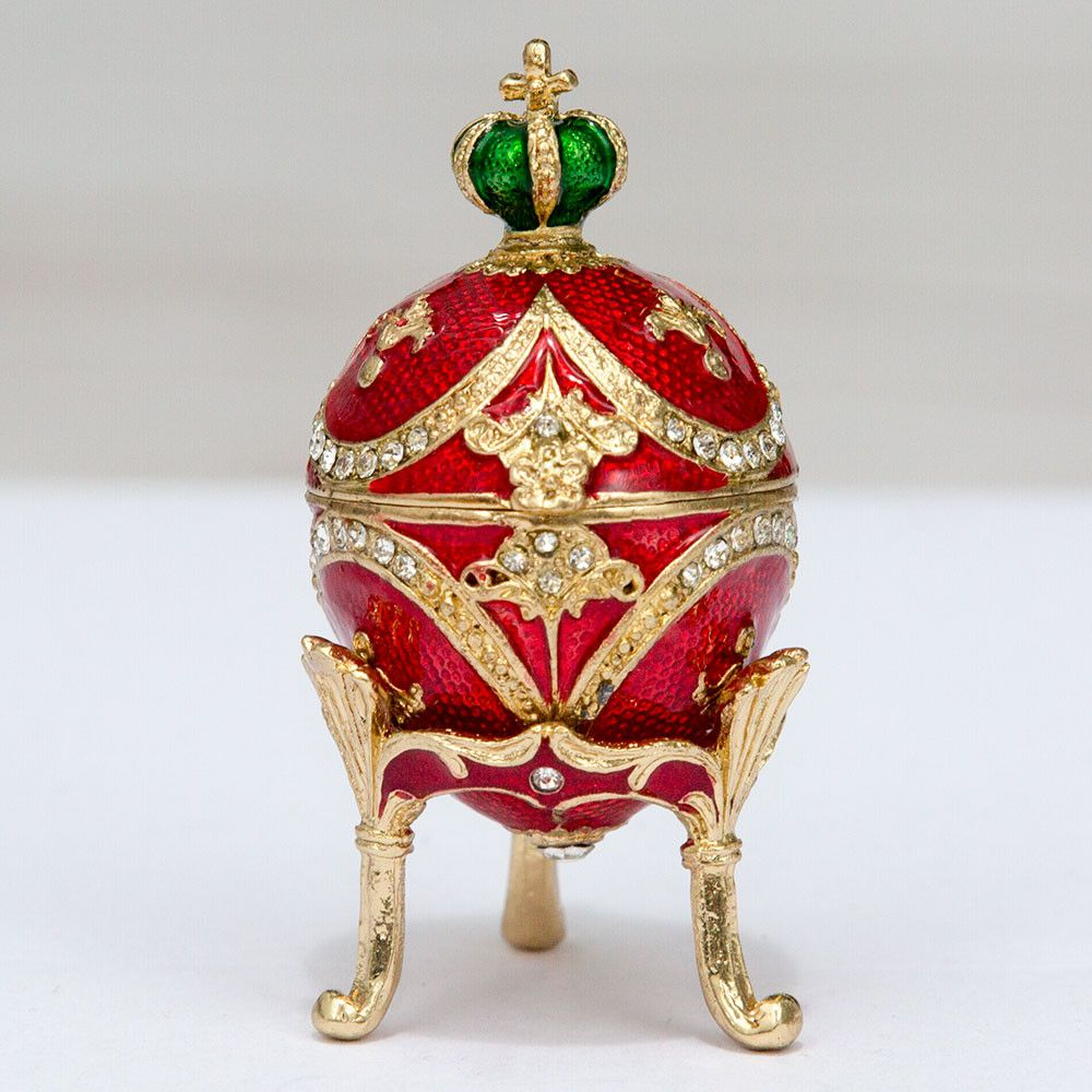 Faberge Egg With A Crown Small