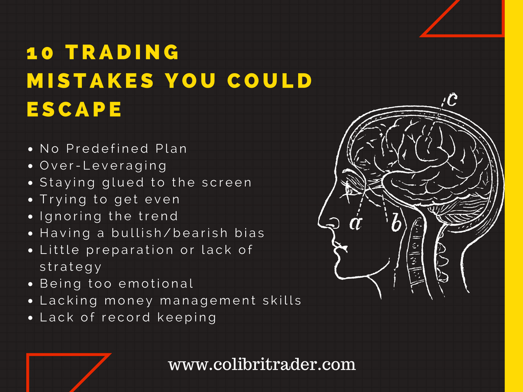 10 trading mistakes