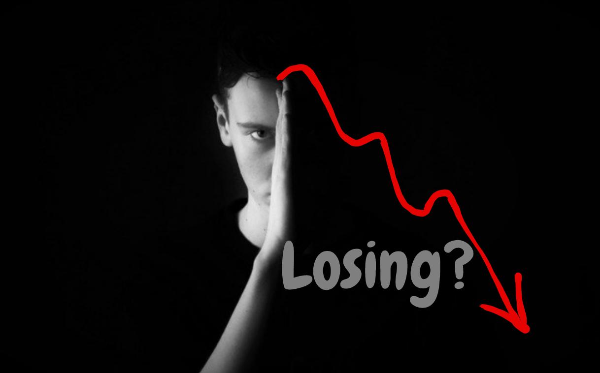 Traders lose