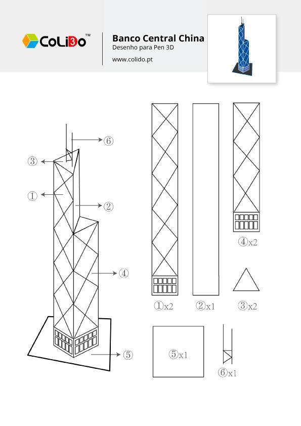 CoLiDo-3d-pen-modelo-edificio-central-bank