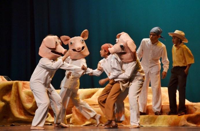 teatro infantil Caracol