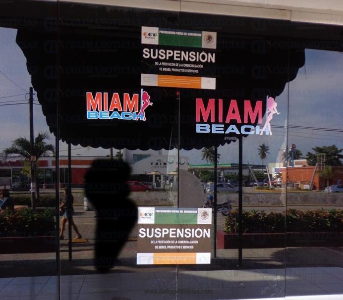 miami beach suspension