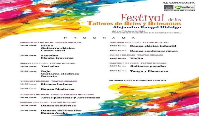Festival de Talleres de Artes y Artesanías