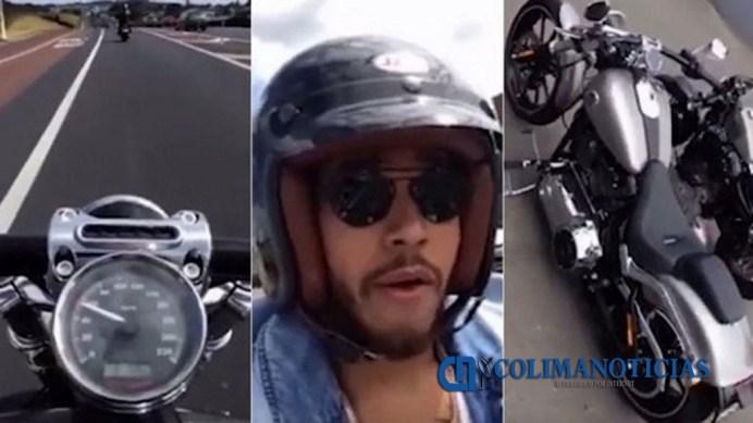 0209.MARZO.2016_Lewis Hamilton en Moto