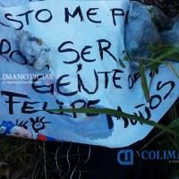 Localizan otro cuerpo con mensaje en Manzanillo