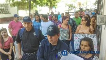 Policías en la CEDH1