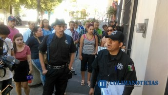 Policías en la CEDH3