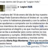 Le atribuyen a 'Legión Holk' balacera en Colegio Americano