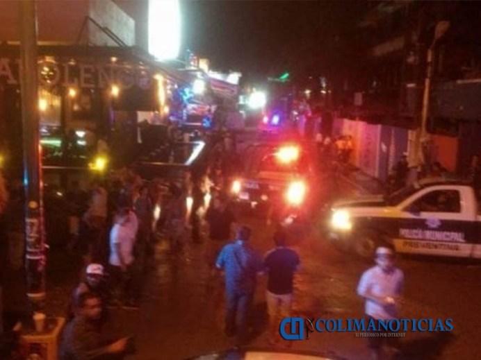 tiroteo en un bar de Playa del Carmen