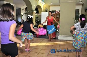 Inicia taller de Danzas Polinesias