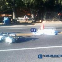 Motociclista pierde la vida en fuerte accidente