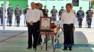ceremonía de policía caído1