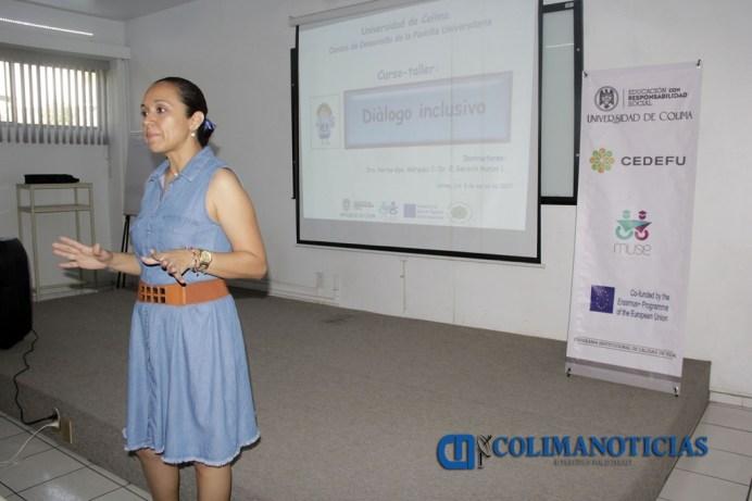 Instructora del curso, Norma Guadalupe Márquez Ceballos