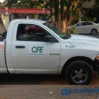Clonan vehículo de la CFE para usarlo en robos a viviendas