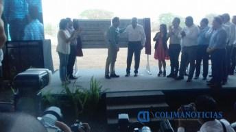 SCT inaugura libramiento Comala y ampliación de autopista 2