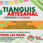invitan Tianguis Artesanal y Foro Juvenil