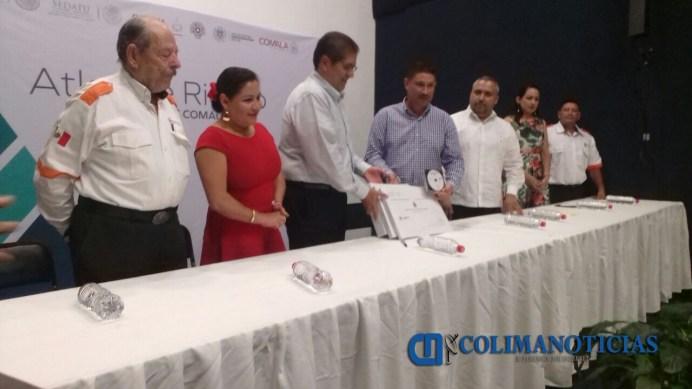 UdeC entrega Atlas de Riesgo del municipio de Comala
