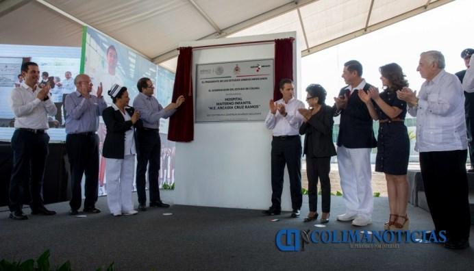 EPN Inauguración Hospital