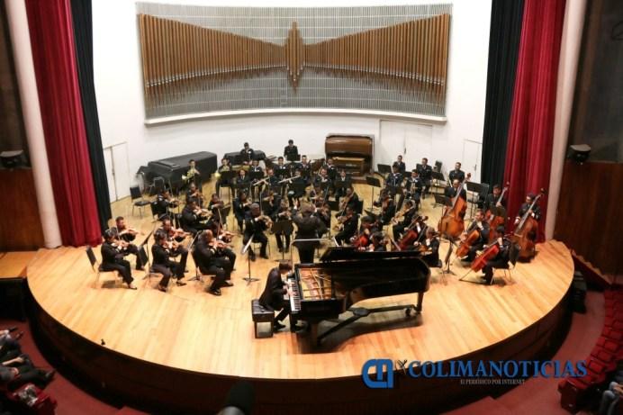 Concierto de Clausura Cátedra Ricardo Castro, Saúl Ulises al piano