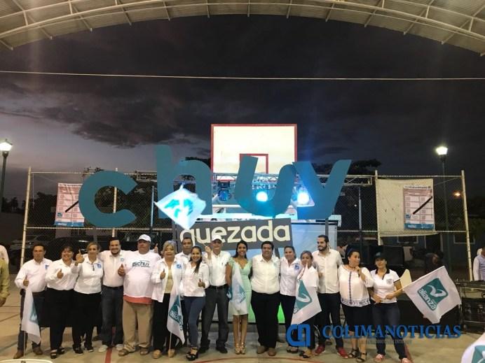CHUY QUEZADA cierra campaña