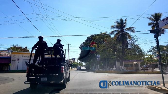 Fuerzas federales son albergadas en colonias conflictivas de Tecomán