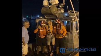 Marina – Armada de México efectuó evacuación de un tripulante que sufrió fractura