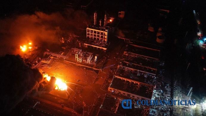 explosión en planta química en China