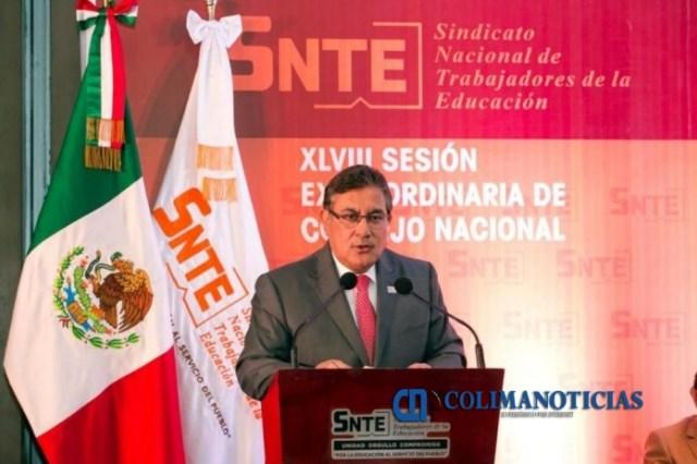 Alfonso Cepeda 696x463 - Logra el SNTE un aumento salarial de 6.25%