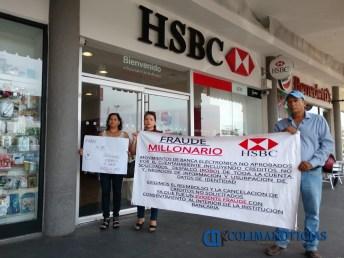 Denuncian clientes de HSBC fraude cibernético 3