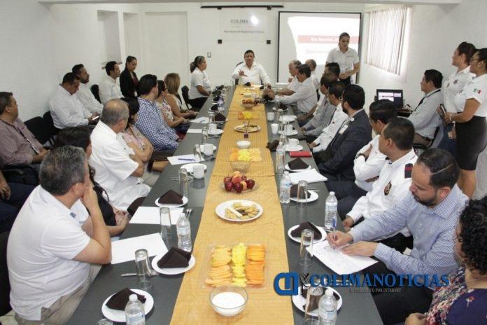 SSP 2 1 696x464 - Empresarios agrupados y Seguridad Pública acuerdan trabajar en coordinación