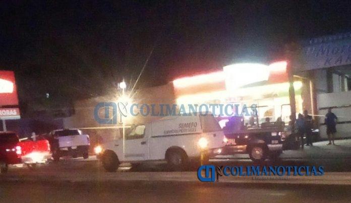 asaltan y asesinan a menor kiosko 696x402 - Asaltan Kiosko y asesinan a menor de edad, en Manzanillo