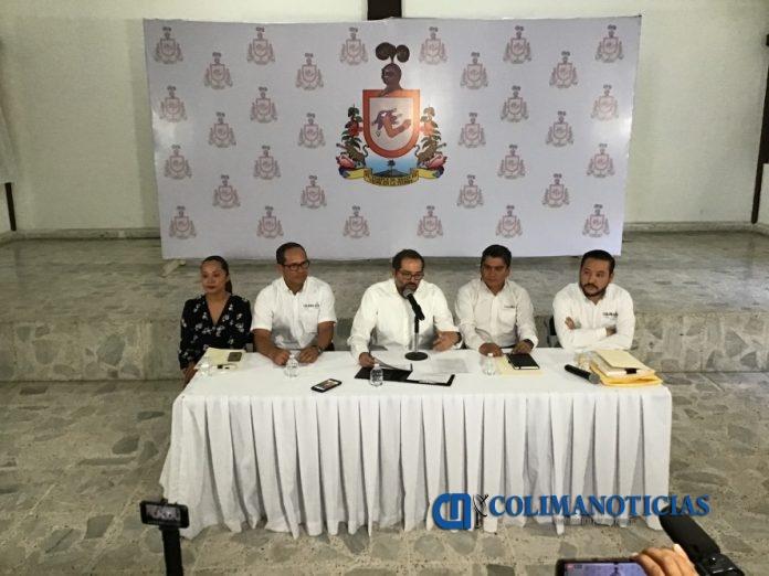 peralta sanchez rueda de prensa ex zona militar 696x522 - No hubo operación ilícita en torno a la adquisición de los terrenos de la ex zona militar: Peralta Sánchez