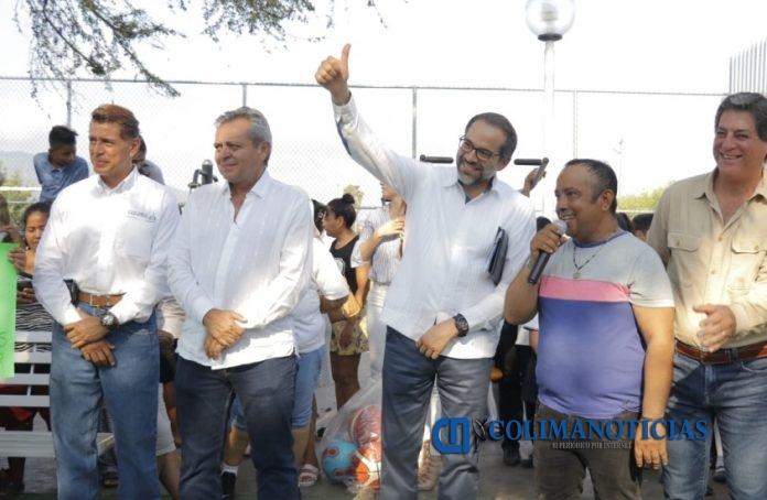 JIPS Chamizal 1 696x454 - Entrega Gobernador Parque Deportivo en El Chamizal