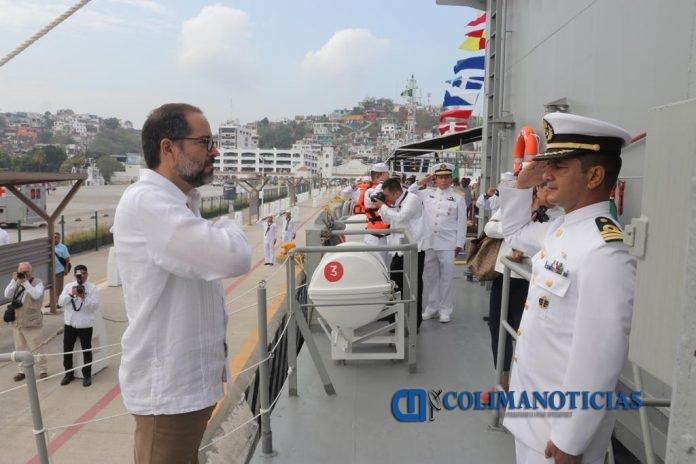 JIPS Día de la Marina 3 696x464 - Reconoce Gobernador a mujeres y hombres marinos