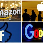 amazon apple facebook y google 150x150 - Amazon toma la delantera y se corona como el gigante de la tecnología