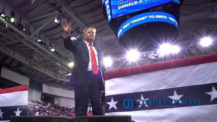 trump inicia campaña para elecciones 2020 696x392 - Oficialmente, Trump comenzó su campaña para la reelección