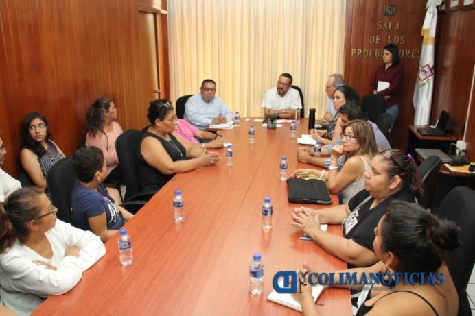 Refrenda Fiscal compromiso con familias de desaparecidos