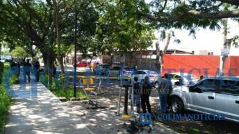 Reportan agresión a balazos contra un hombre en taller automotriz de Villa de Álvarez