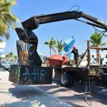 piezas del Zodíaco a restaurar 150x150 - Se busca que Ayuntamiento de Manzanillo concrete Jardín Escultórico con piezas del Zodíaco