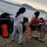turistas ahogandose 150x150 - Rescatan a dos turistas en Olas Altas