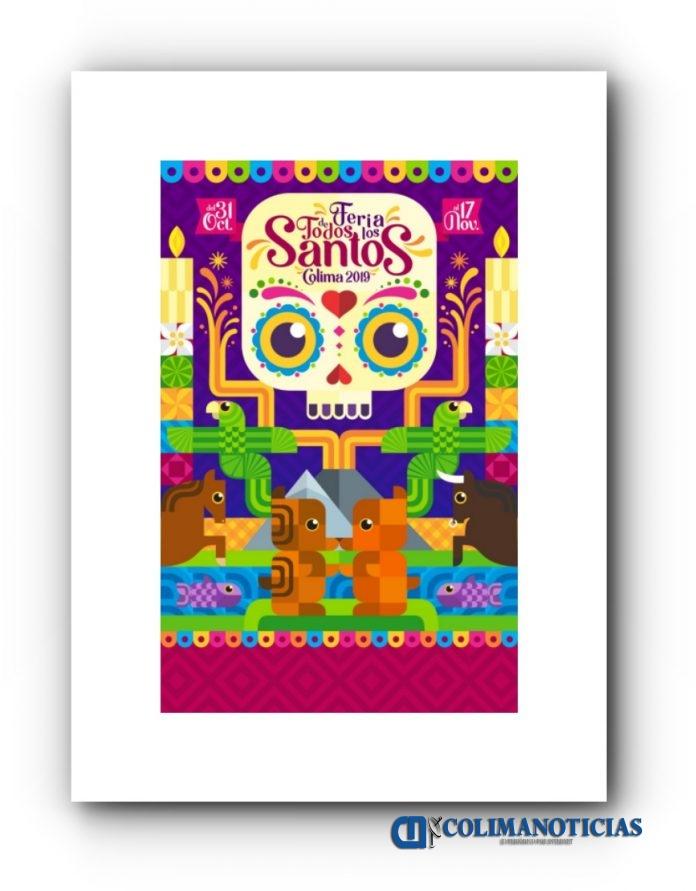 Iffecol cartel 2019 696x891 - Anuncian a ganadora del cartel de la Feria de Todos los Santos 2019