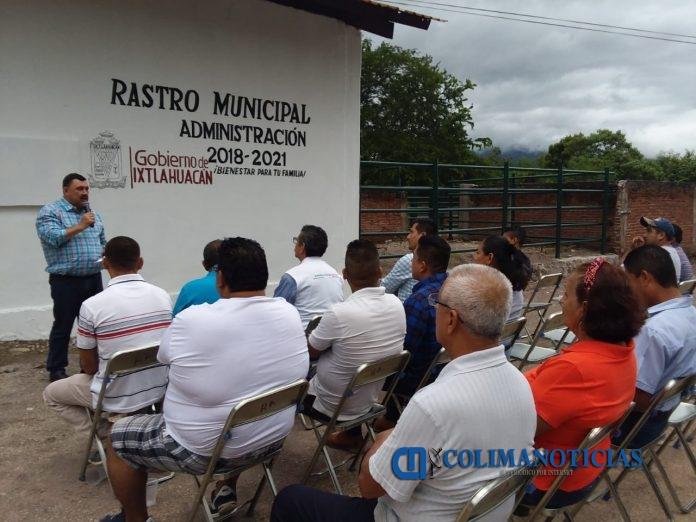 SE REHABILITA EL RASTRO DE IXTLAHUACAN 696x522 - Alcalde de Ixtlahuacán inaugura la rehabilitación del rastro municipal